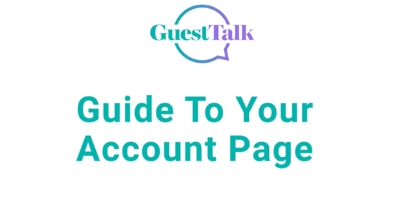 Help Videos - Guide to your Account Page