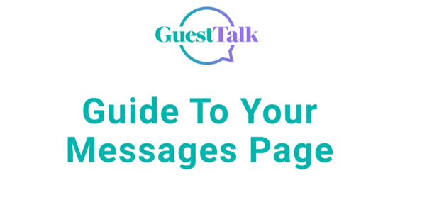 Help Videos - Guide to your Messages Page