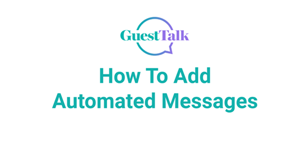 Help Videos - How To Add Automated Messages