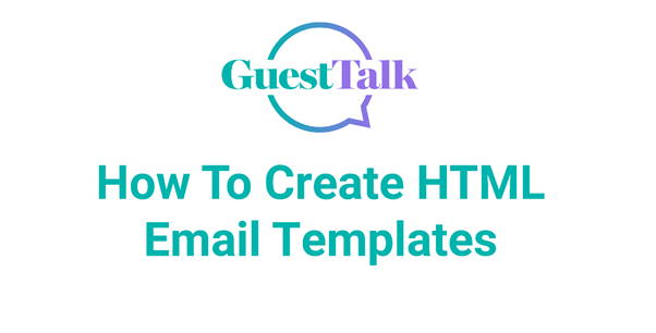 Help Videos - How To Create HTML Email Templates