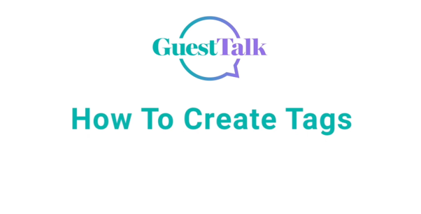 Help Videos - How To Create Tags