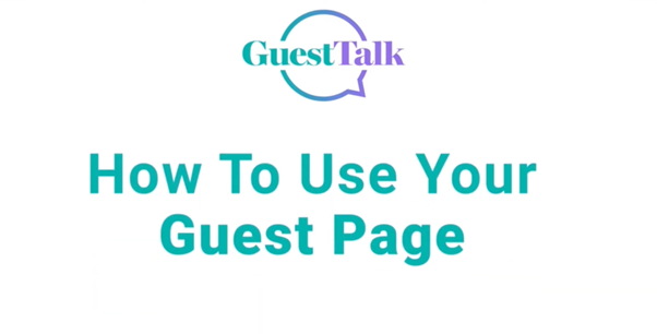 Help Videos - How To Use Guesttalk
