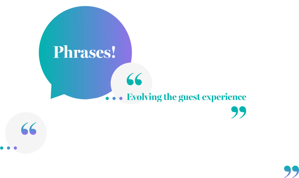 Guesttalk - phrases